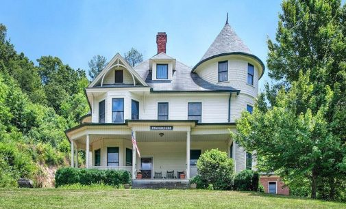Marshall, NC's Stackhouse Victorian Overlooking the French Broad River for $600K, Prev. $997K (PHOTOS)