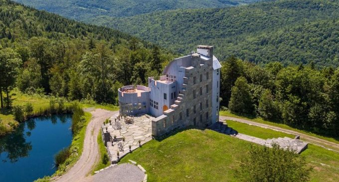 'Grahall' – A 7,900 Sq. Ft. Fortress on 241 Acres in Cavendish, VT Reduced to $2.79M, Prev. $4.3M (PHOTOS)
