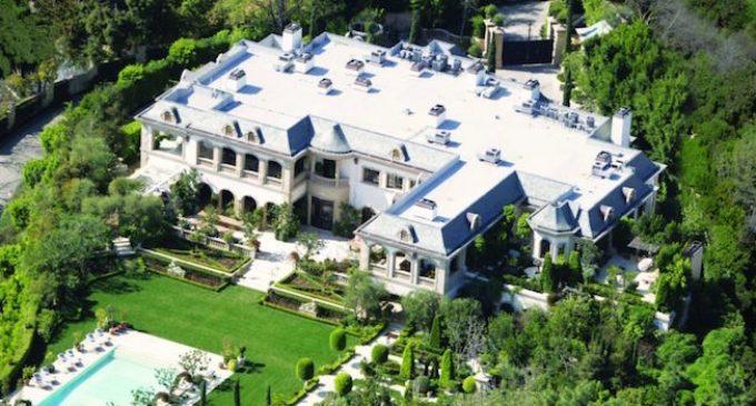 Bel Air's 48,000 Sq. Ft. 'Le Belvédère' Château Reduced to $72M, Prev. $85M (PHOTOS)