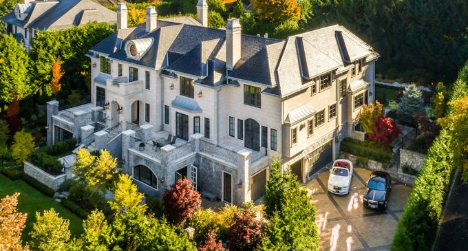 12,600 Sq. Ft. Stefan Wiedemann Designed Vancouver Mansion Reduced to $29.9M, Prev. $39M (PHOTOS & VIDEO)