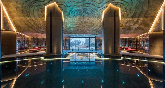 Inside Switzerland's $185M 43,000 Sq. Ft. Mountain Escape (PHOTOS & VIDEO)