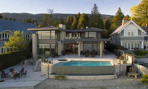 Contemporary Oceanfront Residence Lists in West Vancouver B.C.'s Posh Altamont Neighbourhood for $19.9M (PHOTOS & VIDEO)