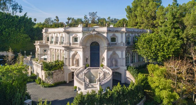 Remodelled 15,000 Sq. Ft. Beverly Hills, CA Mansion for $35M (PHOTOS & VIDEO)