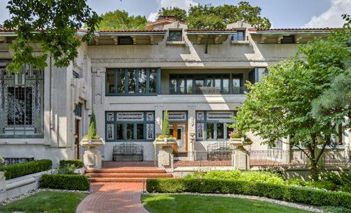 Kansas City, MO's Historic 1912 Bernard Corrigan House Reduced to $6.99M, Prev. $7.5M (PHOTOS)
