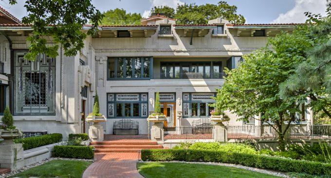 Kansas City, MO's Historic 1912 Bernard Corrigan House Reduced to $6M (PHOTOS)