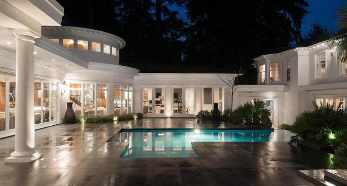 Newly Modernized 16,000 Sq. Ft. West Vancouver, BC Mansion Hits the Market for $22M (PHOTOS)