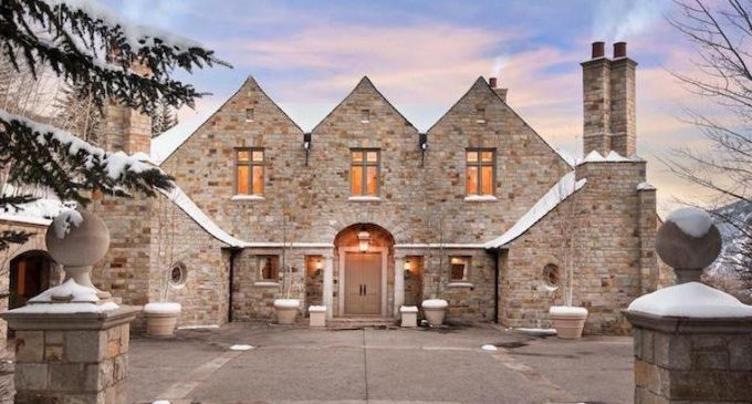 14,000 Sq. Ft. Aspen, CO Manor Reduced to $10.49M, Prev. $19.9M (PHOTOS)