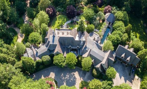 13,500 Sq. Ft. Stone Manor on 10 Acres in Atlanta, GA Reduced to $14.5M (PHOTOS)