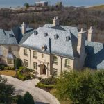 12,268 Sq. Fr. French Traditional Manor in Fort Worth, TX for $6.8M (PHOTOS)