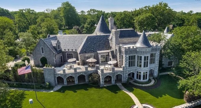 18,000 Sq. Ft. Camelot Castle Replica on Weatherby Lake in Kansas City, MO Reduced to $6.8M, Prev. $7.8M (PHOTOS)