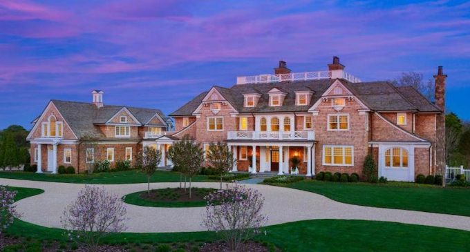 15,500 Sq. Ft. Country House with Rooftop Putting Green Lists in Southampton, NY for $39.5M (PHOTOS)
