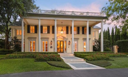 c.1922 Hal Thomson-Designed Neoclassical Manor Back on the Market for $12.9M (PHOTOS)