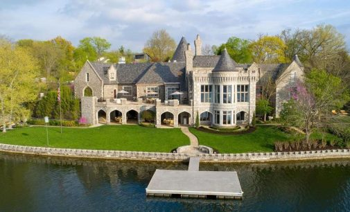 18,000 Sq. Ft. Stone Castle on Weatherby Lake in Kansas City, MO Reduced to $5.5M, Prev. $7.8M (PHOTOS)