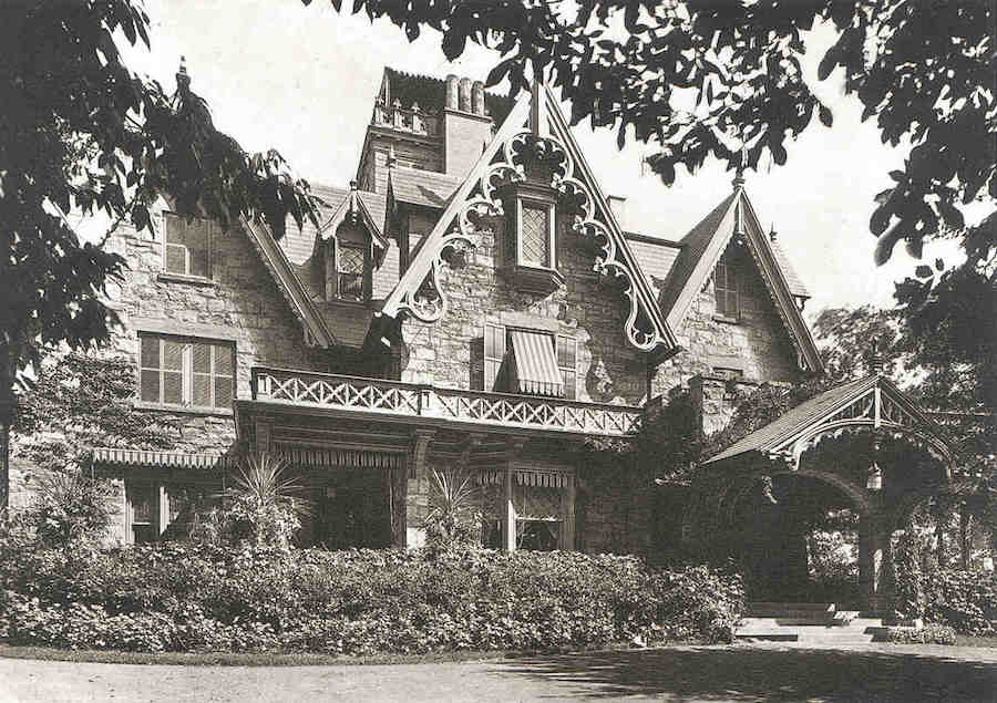 Historic C 1849 Goulian Residence In Bronxville Ny