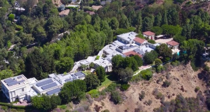 13 Acre Beverly Hills Mountaintop Estate Reduced to $110M, Prev. $145M (PHOTOS)
