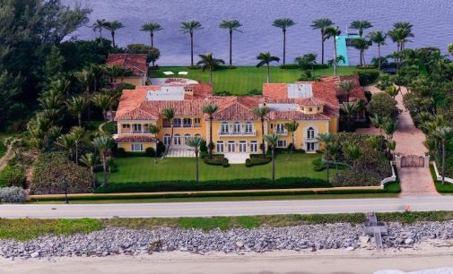 Sprawling 24,600 Sq. Ft. Palm Beach, FL Mediterranean hits the Market for $59M (PHOTOS)