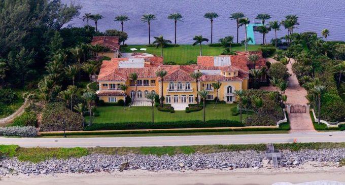 Sprawling 24,600 Sq. Ft. Palm Beach, FL Mediterranean hits the Market for $59M (PHOTOS)