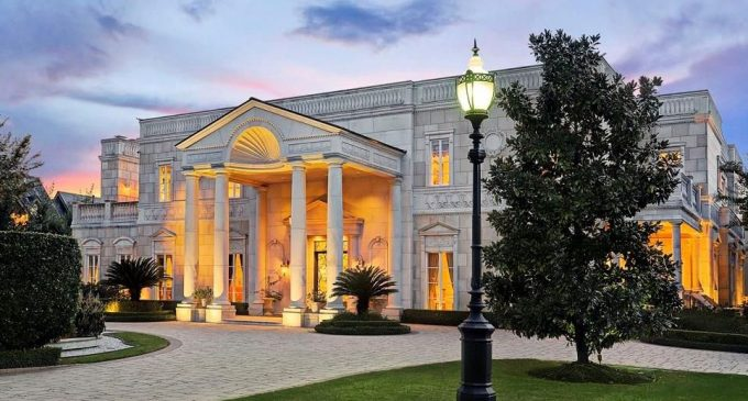15,000 Sq. Ft. Limestone Manor with Natatorium in Houston, TX Reduced to $14.9M (PHOTOS)