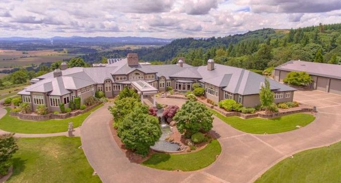16,600 Sq. Ft. Mansion on 50 Acres in Salem, OR for $3.8M (PHOTOS & VIDEO)