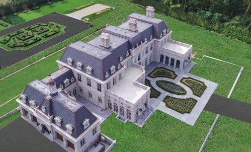 Brand New 22,000 Sq. Ft. Long Island Château on the Market for $60M (PHOTOS)