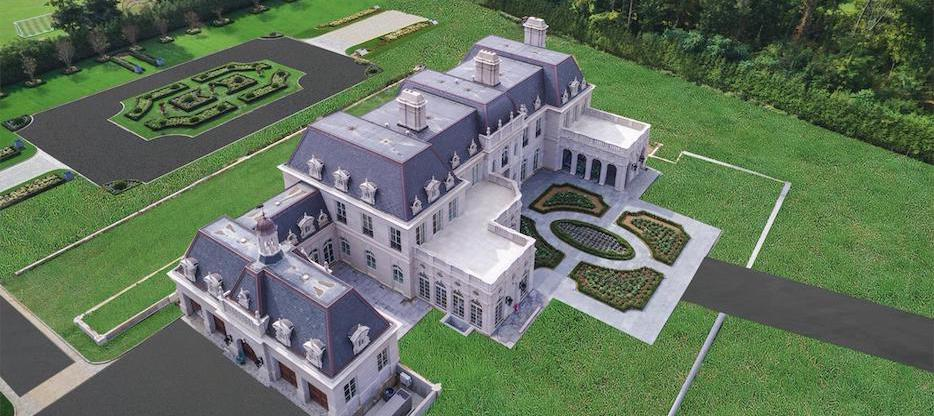 Brand New 22,000 Sq. Ft. Long Island Château in Old Brookville, NY (PHOTOS)