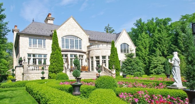 10,500 Sq. Ft. Stone Manor in Winnetka, Illinois Reduced to $3.9M, Prev. $5.5M (PHOTOS)