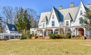 """""""The Cliffs"""" – A Historic c.1856 Mansion Designed by Henry G. Harrison for James W. Beekman Lists in Mill Neck, NY for $16M (PHOTOS)"""