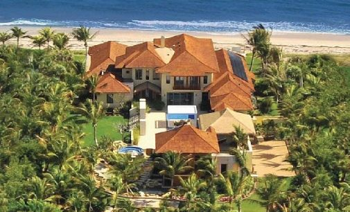 Manalapan, FL's Iconic 'Acqua Liana' Estate Reduced to $19.9M, Prev. $26.5M (PHOTOS & VIDEO)