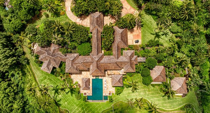 A Look Inside this $70M Bluff Top Tropical Hawaiian Paradise with Active Farm & Sandy Beach (PHOTOS & VIDEO)