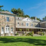 Elegant c.1928 Georgian Stone Mansion on 3.4 Acres in Greenwich, CT's Lists for $11.9M (PHOTOS)