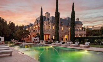 27,000 Sq. Ft. Richard Landry Designed Manor in Beverly Park Sells for $32M, Prev. $45M (PHOTOS)