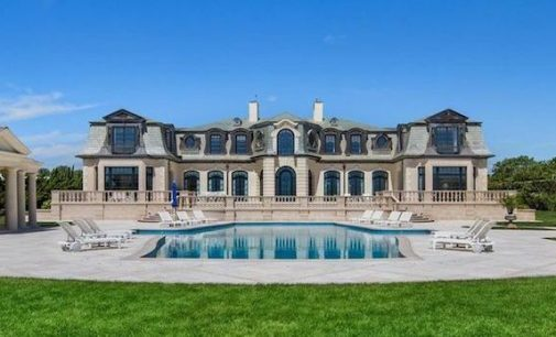 Long Branch, NJ's 14,000 Sq. Ft. 'Belle Mer' Oceanfront Estate Reduced to $37.9M, Prev. $40M (PHOTOS)