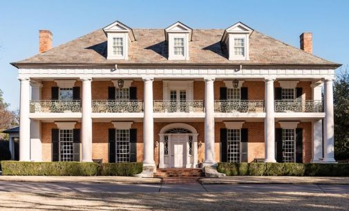 Richard Drummond Davis Designed Greek Revival Mansion Lists in Dallas, TX for $9.1M (PHOTOS)