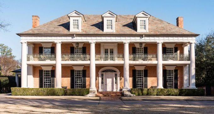 Richard Drummond Davis Designed Greek Revival Mansion in Dallas, TX Reduced to $6.9M, Prev. $9.1M (PHOTOS)