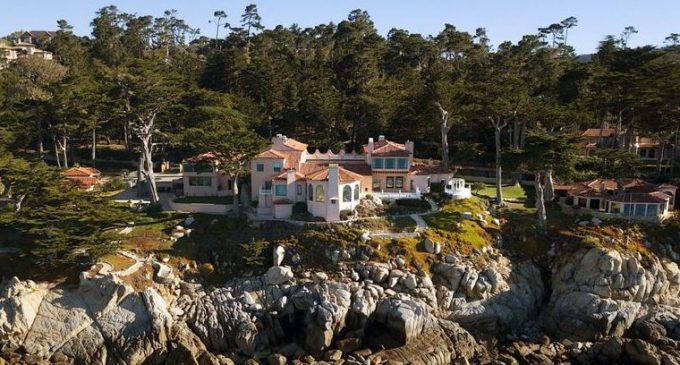 Pebble Beach, CA's Historic c.1924 'Villa Eden Del Mar' Estate Hits the Market for $37M (PHOTOS & VIDEO)