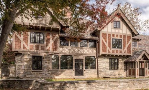 Restored c.1925 Assisi Residence Designed by Frank Stephens lists in Wayne, PA for $1.9M (PHOTOS)