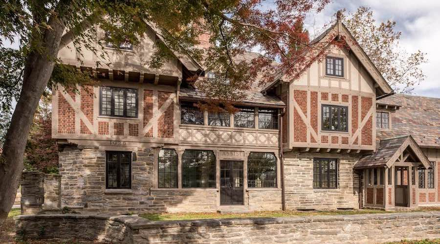 Restored c.1925 Assisi Residence Designed byFrank Stephens in Wayne, PA Reduced to $1.8M (PHOTOS)