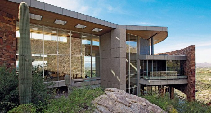 Award Winning 25,000 Sq. Ft. Campbell Cliffs Mansion in Tucson, AZ Reduced to $12.5M, Prev. $22M (PHOTOS)