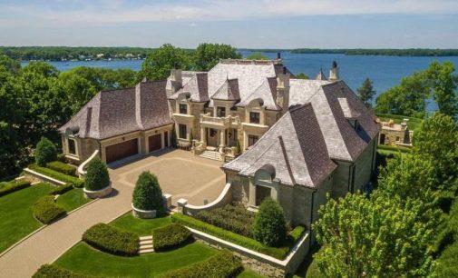 1.8 Acre Lake Minnetonka Estate Reduced to $14.89M (PHOTOS)