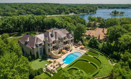 1.8 Acre Lake Minnetonka Estate Reduced for $14.89M (PHOTOS)