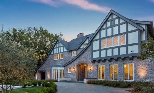 Before & After: c.1927 Tudor Revival Home in Beverly Hills, CA Transformed in Complete Modernization (PHOTOS)
