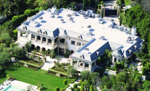 Bel Air's 48,000 Sq. Ft. Le Belvédère Château Sells for $56M, Prev. Listed for $85M (PHOTOS)
