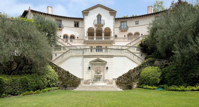 Historic c.1931 Wallace Neff Masterpiece in Bell Air, CA for $37.5M (PHOTOS)