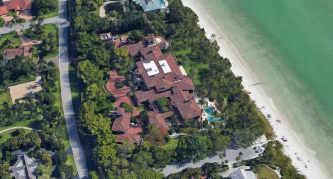 Inside Alan & Sandra Gerry's Palatial 32,000 Sq. Ft. Compound in Florida's Exclusive Port Royal Enclave (PHOTOS)