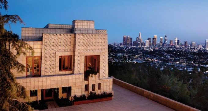 Frank Lloyd Wright House Los Angeles: Frank Lloyd Wright's Landmark Ennis House Lists In Los
