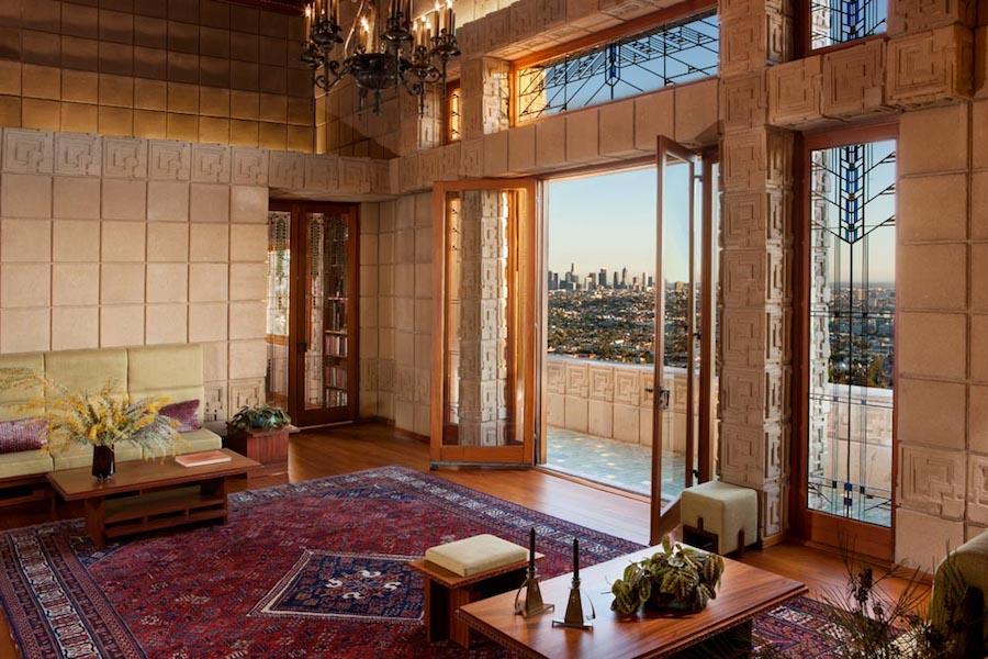 Frank Lloyd Wright S Landmark Ennis House Lists In Los