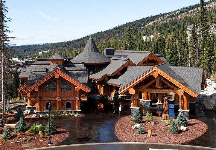 white spirit lodge log home built by timber kings in big white bc reduced to 6 3m prev 9. Black Bedroom Furniture Sets. Home Design Ideas
