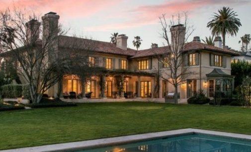 Villa Burlingame, Actor Jim Belushi's Mediterranean Estate in Brentwood, CA Reduced to $29.9M, Prev. $38.5M (PHOTOS & VIDEO)