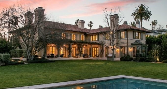 Villa Burlingame, Actor Jim Belushi's Mediterranean Estate in Brentwood, CA Reduced to $29.9M, Prev. $38.5M (PHOTOS & VIDEO)