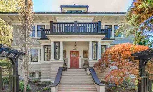 Historic c.1914 Shaughnessy Home Lists in Vancouver, BC for $6.98M (PHOTOS)